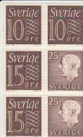 Zweden Michel H-Blatt 26 Cat. 5.00€ ** - 1951-80
