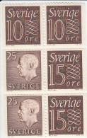 Zweden Michel H-Blatt 25 Cat. 5.00€ ** - 1951-80