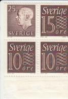 Zweden Michel H-Blatt 28 Cat. 10.00€ ** - 1951-80