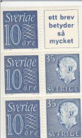Zweden Michel H-Blatt 22 Cat. 5.50€ ** - 1951-80