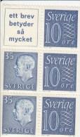 Zweden Michel H-Blatt 21 Cat.5.50€ ** - 1951-80