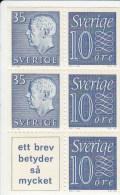 Zweden Michel H-Blatt 23 Cat.15.00€ ** - 1951-80