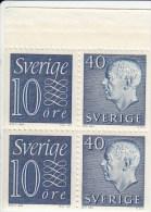 Zweden Michel H-Blatt 29 Cat.3.50 € ** - 1951-80