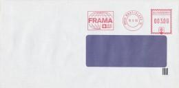 I6125 - Slovakia (1993) 810 05 Bratislava 15: The Test Machine FRAMA; Stamp In The Slovak National Emblem (!!!) - Varietà & Curiosità
