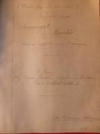 MARCELLIN BOUDET AYMERIGOT MARCHES LA LEGENDE DE SAINT FLORUS Manuscrit - Manuscrits