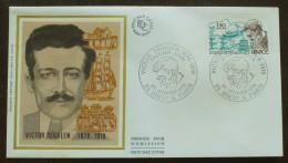 FDC 1979 - YT N°2034 - Victor SEGALEN, écrivain - BREST & PARIS - FDC