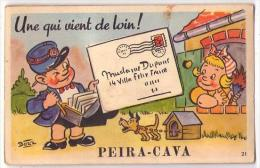 (06) 344, Lucéram Peira-Cava, Carte à Systeme CAP 21 Avec Son Dépliant - Lucéram