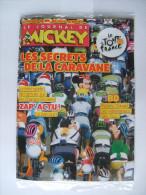LE JOURNAL DE MICKEY - Edition Spéciale TOUR De FRANCE 2009 : Les Secrets De La Caravane - 52 P - Journal De Mickey