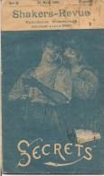 REVUE SHAKERS REVUE PUBLICATION A LILLE NO 2 DU 25 MARS1892 SECRETS - Livres, BD, Revues