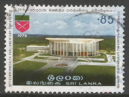 Sri Lanka. 1974 20th Commonwealth Parliamentary Conference. 85c Used. SG 604 - Sri Lanka (Ceylon) (1948-...)
