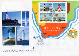 P - 1988 Sud Africa - Lighthouses - Lighthouses