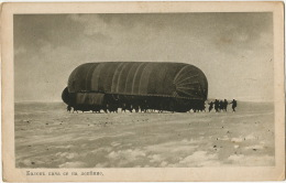 Dirigeable Militaire Balkans Guerre 1914 Bulgarie - Dirigibili