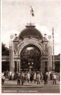 KOBENHAVN - Tivolis Indgang, Eingang Zum Tivoli, Karte Gel.1936, 2 Fach Frankiert, Sonderstempel - Dänemark