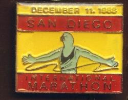 """"""" MARATHON DE SAN DIEGO """"   11 Décembre 1988  Vert Pg14 - Villes"""