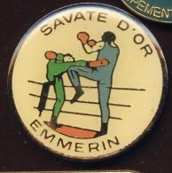 """ EMMERIN  ""  Savate D'OR   Vert Pg14 - Steden"