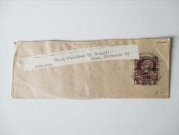 Streifband 1915 Mitteilungen Des Deutschen Und Österreichischen Alpen - Vereins. Wien 101 Ende September 1915 - 1850-1918 Imperium