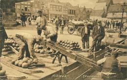 ALKMAAR   1910  KAASMARKT        Stempel Amsterdam      Weenenk & Snel   Den Haag - Alkmaar