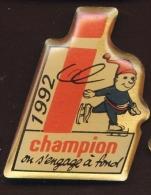 """ Champion ""   Vert Pg14 - Patinage Artistique"