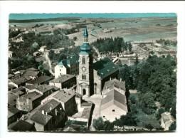 CP - BOULAY (57) L EGLISE EN AVION AU DESSUS DE ... - Boulay Moselle