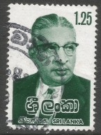 Sri Lanka. 1979 Dudley Senanayake Commemoration. 1r25 Used. SG 672 - Sri Lanka (Ceylon) (1948-...)