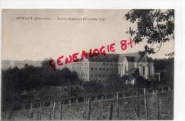 19 -  CUBLAC - ECOLE BOSSUET   FACADE EST - Autres Communes