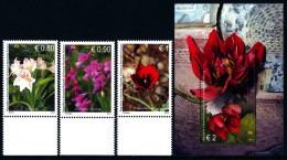 REPUBLIC OF KOSOVO 2014 Flora/flowers Of Kosova, Set & Block** - Kosovo