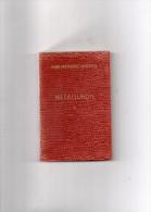 AIDE - MEMOIRE  DUNOD  -  METALLURGIE  -  TOME 1 - 1960 - Autres