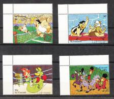 St. Vincent   -   1991.  Hanna & Barbera. Tennis, Lotta, Boxe, Equitazione . Complete Rare Set - Disney
