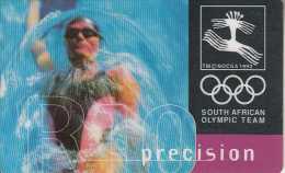 SOUTH AFRICA(chip) - South African Olympic Team/Precision, Telkom Telecard, Chip Siemens 30, Used - Afrique Du Sud