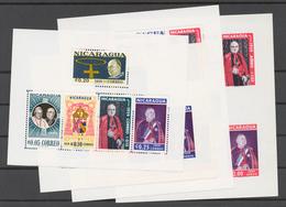 Nicaragua 1959 Mi# Bl.50-51 A+B** CARDINAL SPELLMAN'S VISIT TO MANAGUA (see Scan) - Nicaragua