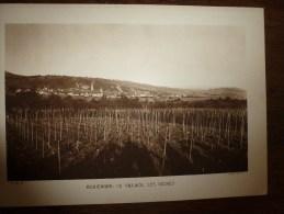 Photo Ernest Braun   RIQUEWIHR   Le Village Et Les Vignes - Places