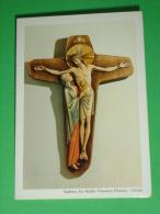 Calendarietto Anno 1987 - Madre Della Carità Sotto La Croce - Scultura Ars Studio Vincenzo Demetz ORTISEI /santino - Formato Piccolo : 1981-90