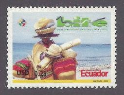 """Ecuador 2003 """"BITE"""" International Tourism Trade Fair - Tourisme, Artisanat, Traditional Handicraft, Ricamo MNH - Ecuador"""