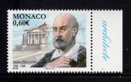MONACO 2008-1 Timbre (1)  N°YT 2615** Andrea Palladio Architecte Italien 0.65€ BDF - Nuevos