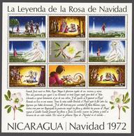 Nicaragua 1972 Mi# Bl.72** CHRISTMAS - Nicaragua