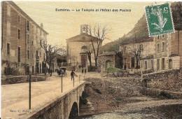 SUMENE - Le Temple Protestant  - Edition Toilée Colorisée - Sumène