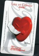 Calendario Tascabile Coke Art 2004 - Calendari