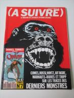 Revue BD  :  A Suivre N° 139 /   Aout 1989  -   Torres  Comes  Rossi       ..... - Fortsetzungen