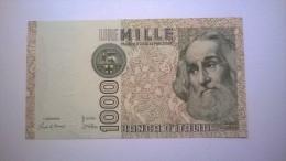 "1000 Lire MILLE LIRE : 1985 - SPL  ""Marco Polo"" - Numero : DA 737636 - [ 5] Trésor"