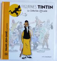 Livre FIGURINES TINTIN - Moulinsart TF1 - N°50 WANG JEN-GHIE - Tintin