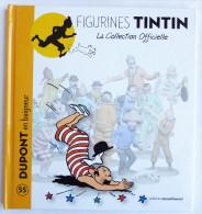 Livre FIGURINES TINTIN - Moulinsart TF1 - N°55 DUPONT En Baigneur - Tintin