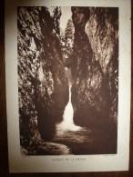 Photo Robert Perret       GORGES DE LA DIOSAZ - Places