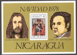 Nicaragua 1978 Mi# Bl.109** CHRISTMAS - Nicaragua