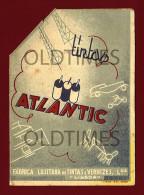 PORTUGAL - LISBOA - CALENDARIO DAS TINTAS ATLANTIC - 1940 OLD ADVERTISING CALENDAR - Calendars