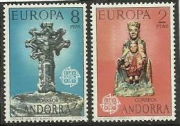 ANDORRA-  ESTOS SELLOS O UNOS MUY SIMILARES SIN FIJASELLOS +++ C. M.A. Nº 81/82 - Andorra Española