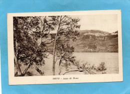 LAGO DI NEMI-bel Affrachissement Stamp - Vatican-a Voyagé En 1934 - Altre Città