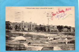 KANSAS CITY -M O--miniature Golf- Country Club Animée-a Voyagé En 1937 - Kansas City – Kansas