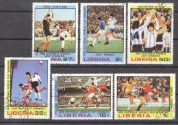Liberia 1978 Football, Soccer, Used AF.027 - Liberia