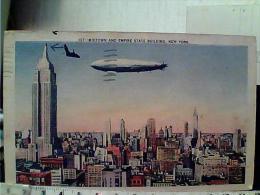 Midtown And Empire State Building New York Showing The Skyline Of Manhattan U. S. Navy Airship DIRIGIBILE  VB1937 EK6728 - Dirigibili