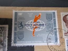 Lettre Par Avion Du Cameroun Coupe Du Monde De Football Munich Allemagne 1974 RFA 2 Hollande 1 Village Kirdi - Coppa Del Mondo